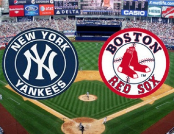 August 4th (Sunday) Boston Red Sox vs New York Yankees